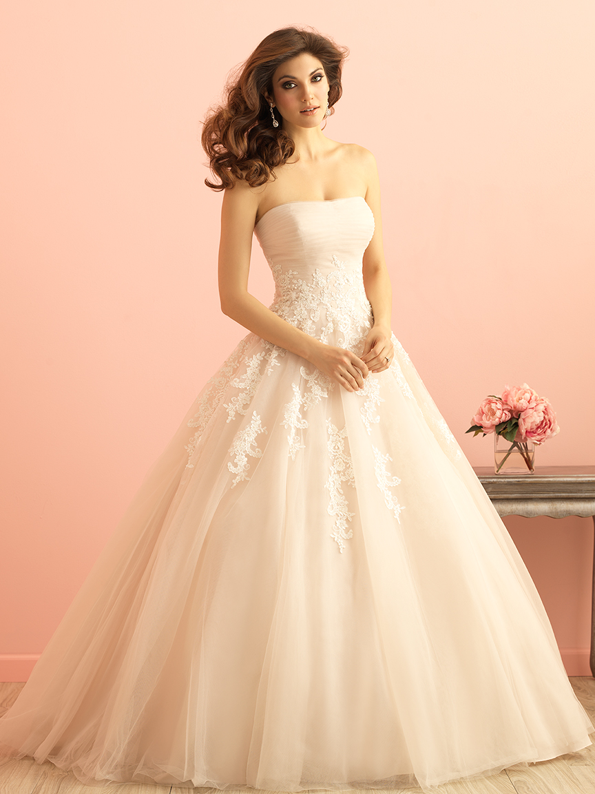 Allure Bridals 2852 Wedding Dress Madamebridal Com