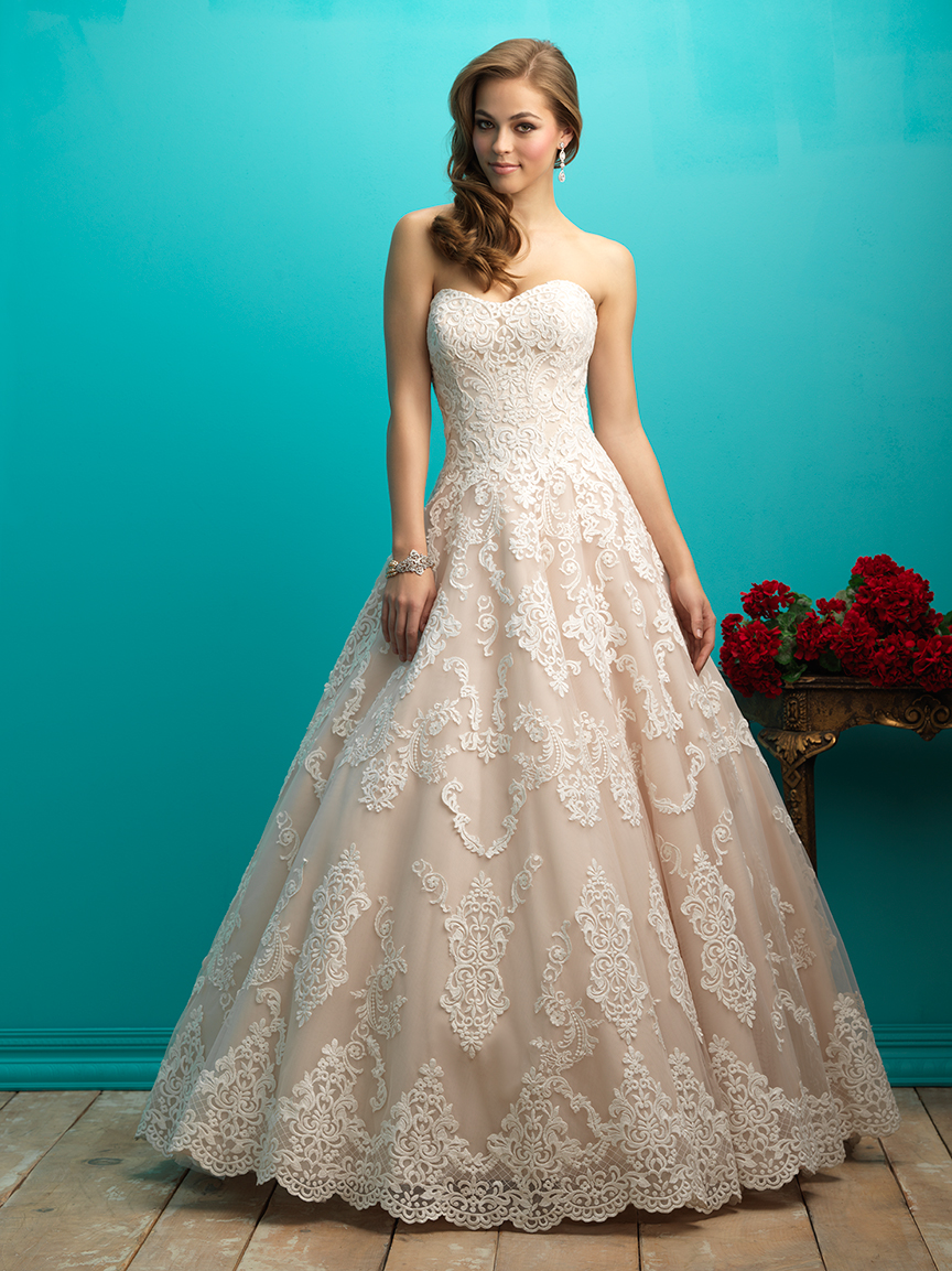 Allure Bridals 9268 Wedding Dress Madamebridal Com