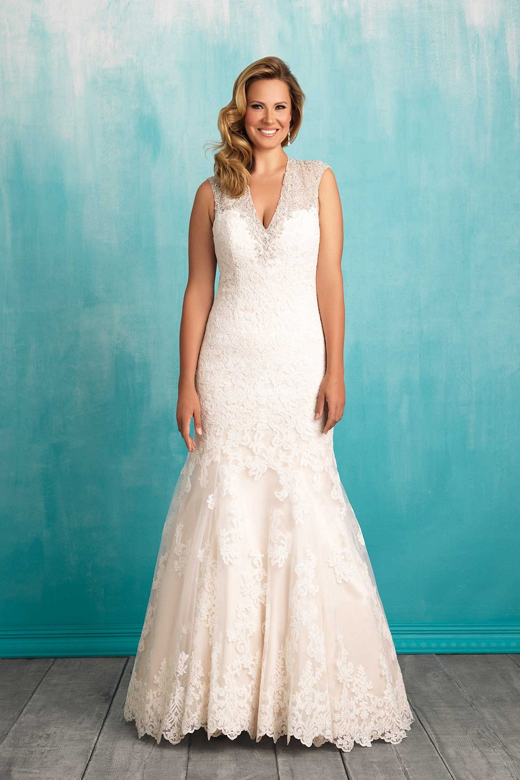 429daebadbc Allure Bridals W376 Plus Size Wedding Dress