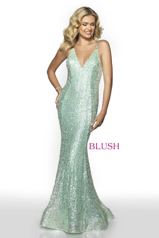 9fe4f6897ca Blush Pink Sequin Prom Dress - Gomes Weine AG