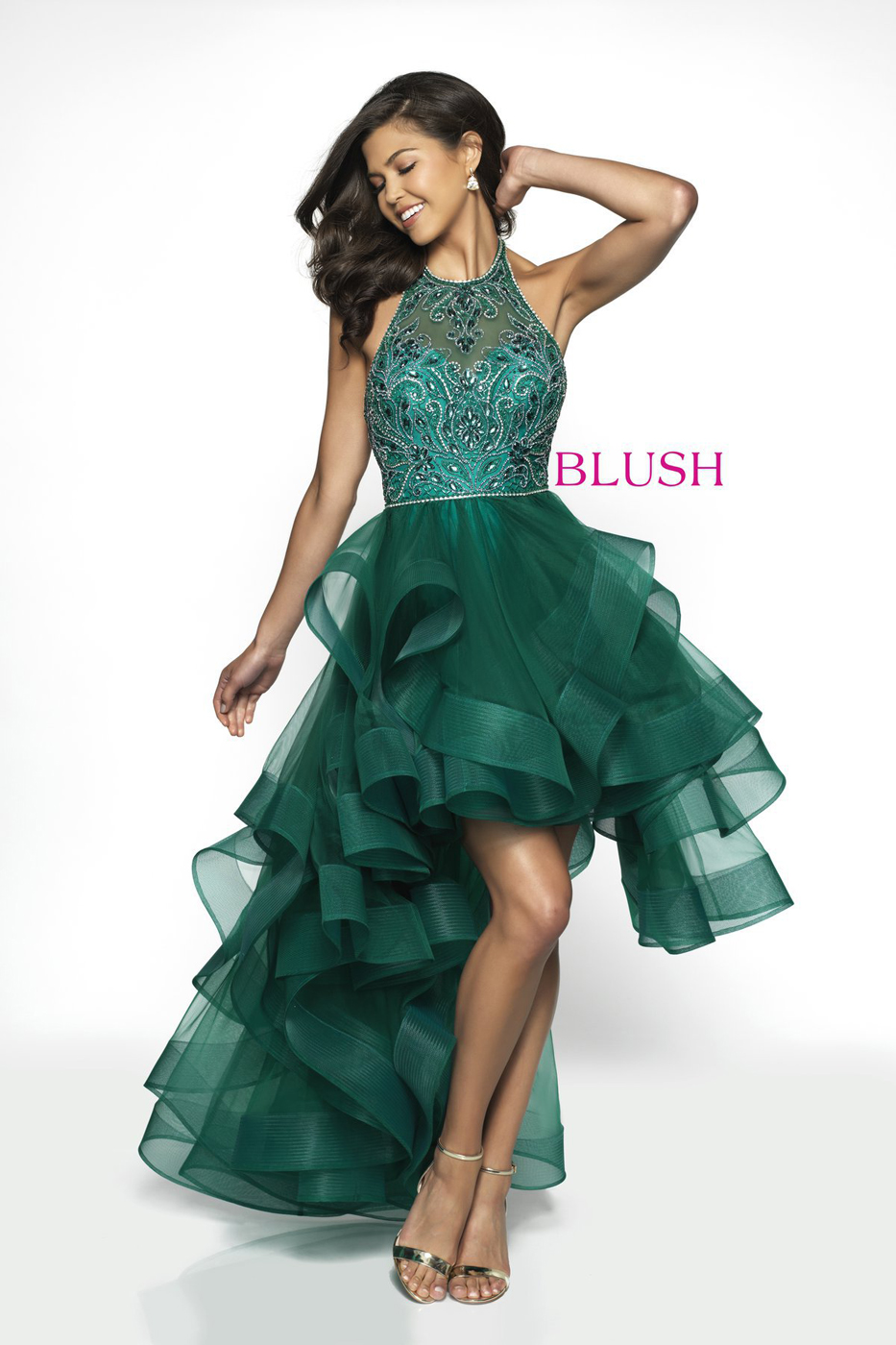 475eadd4972 Turquoise High Low Prom Dress - Gomes Weine AG