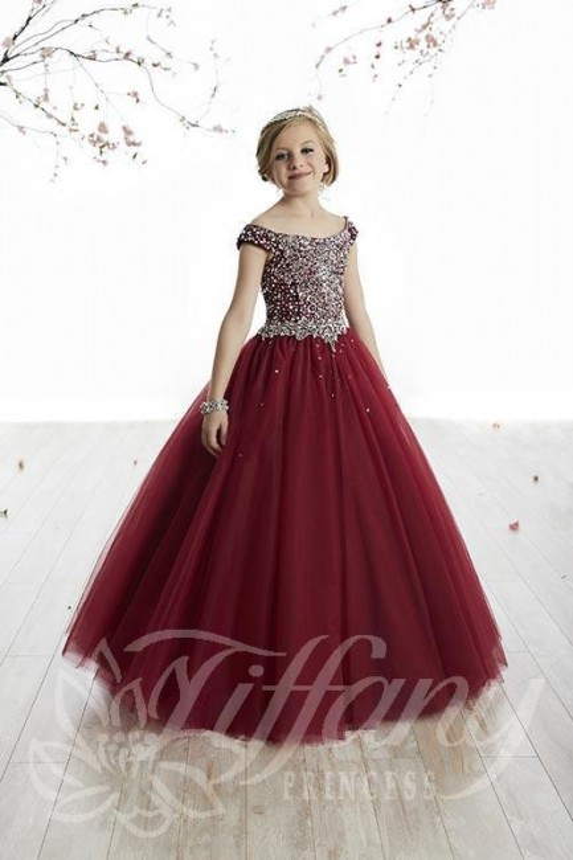 591deef1dcac Tiffany Princess 13505 Pageant Dress