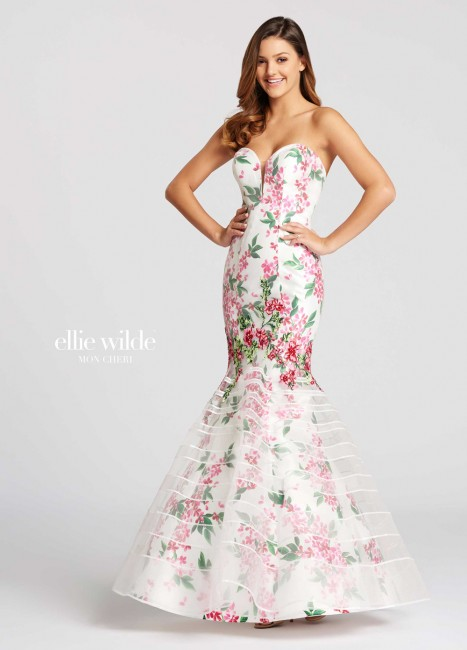 877054f569 Ellie Wilde EW118089 Dress - MadameBridal.com