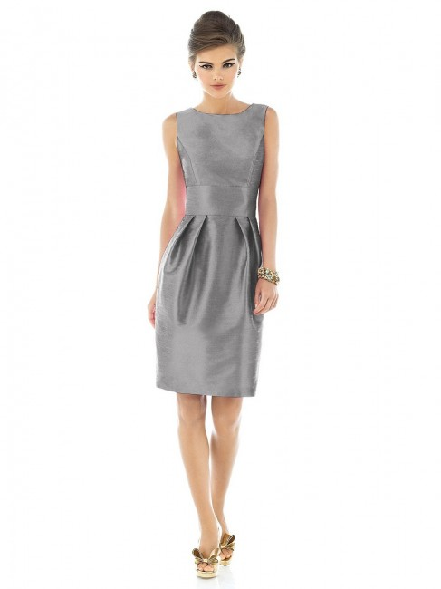 Alfred Sung D522 Quick Delivery Bridesmaid Dress