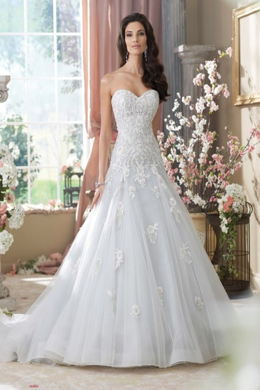 Martin Thornburg for Mon Cheri 214212 Kristi Wedding Dress