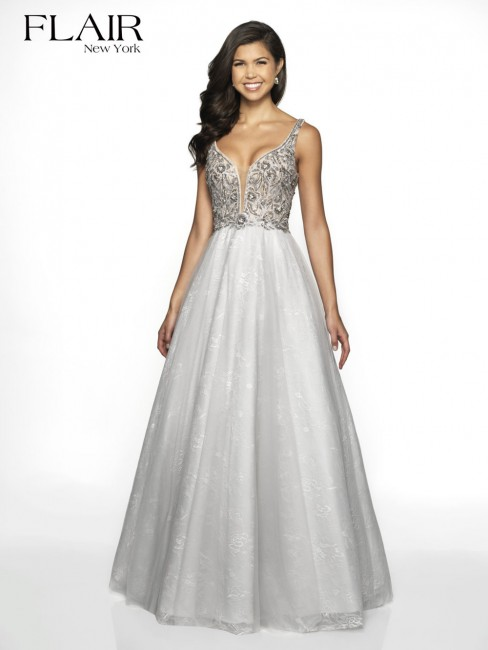 6f9185df1af Flair NY 19200 Dress - MadameBridal.com