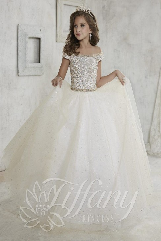 1b0782624129 Tiffany Princess 13457 Gown