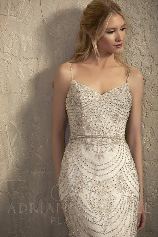1df16247099 ... Adrianna Papell 31035 Angelina Wedding Dress