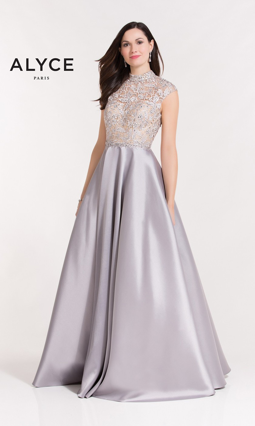 00686366 Long and Short 2019 Prom Dresses - PromGirl - PromGirl