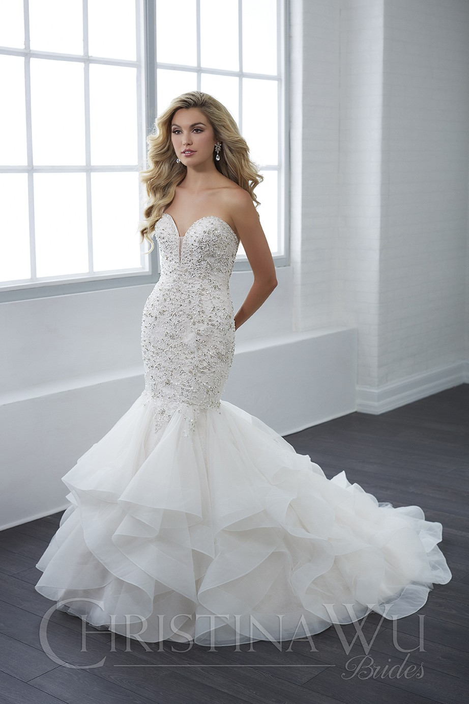 Christina Wu 15662 Dress Madamebridalcom