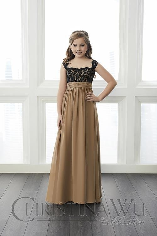 f4333c15863 Christina Wu 32649 Junior Bridesmaid Dress