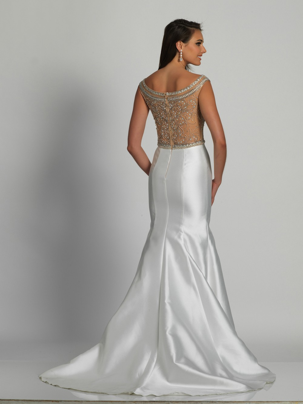 2f21909f25d Dave and Johnny 6277 Dress - MadameBridal.com