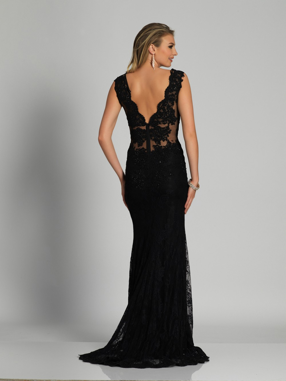 38f7ca8c0a Long Elegant Prom Dress By Dave And Johnny - Gomes Weine AG
