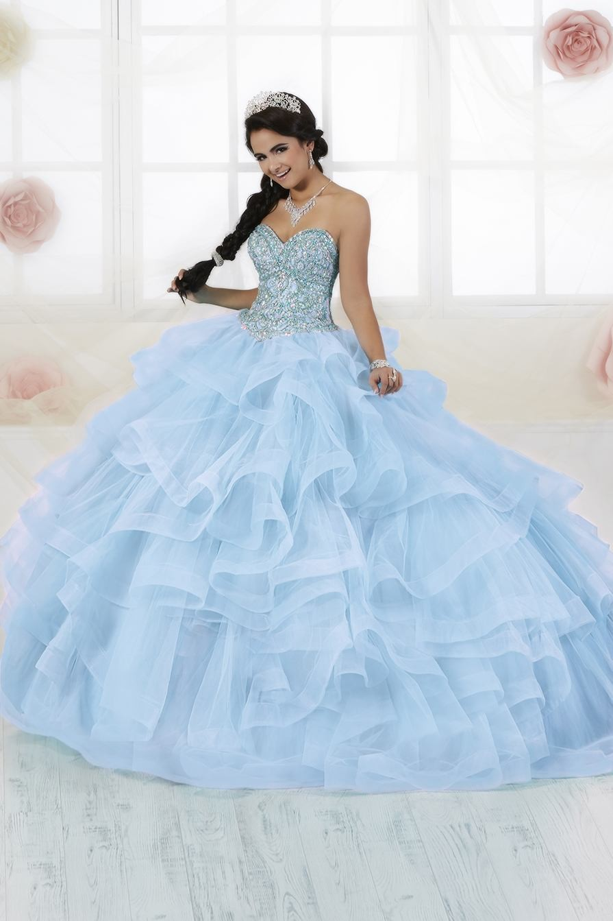 ae37339d79b ... Quinceanera Dress With Removable Ball Skirt French Novelty. House Of Wu  Dress Style 56353
