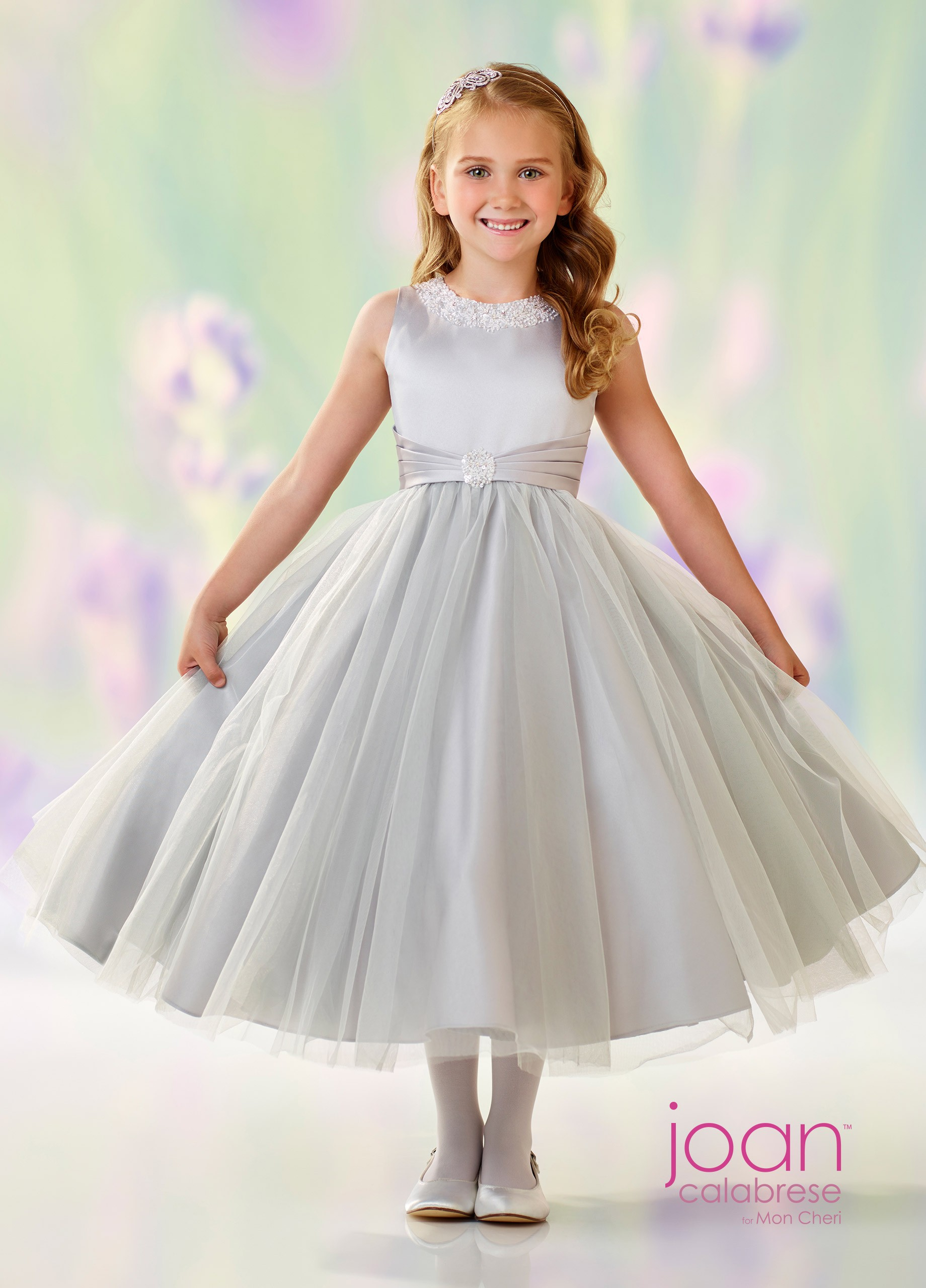 675dacd0dd8 Tap to expand · Joan Calabrese 118312 Jewel Neckline First Communion Dress  Joan Calabrese 118312 Jewel Neckline First Communion Dress