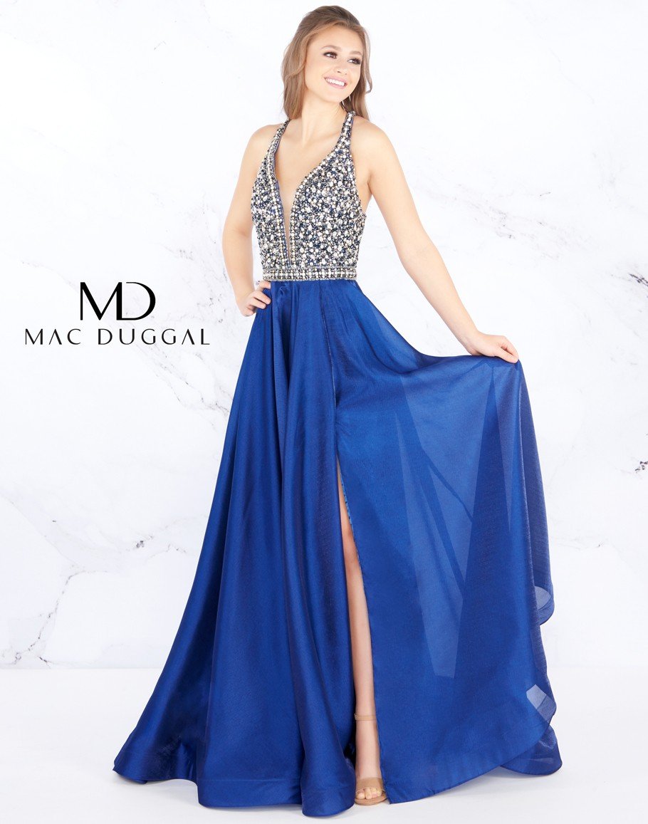 78f7c4842d Tap to expand · Mac Duggal - Dress Style 66762M ...