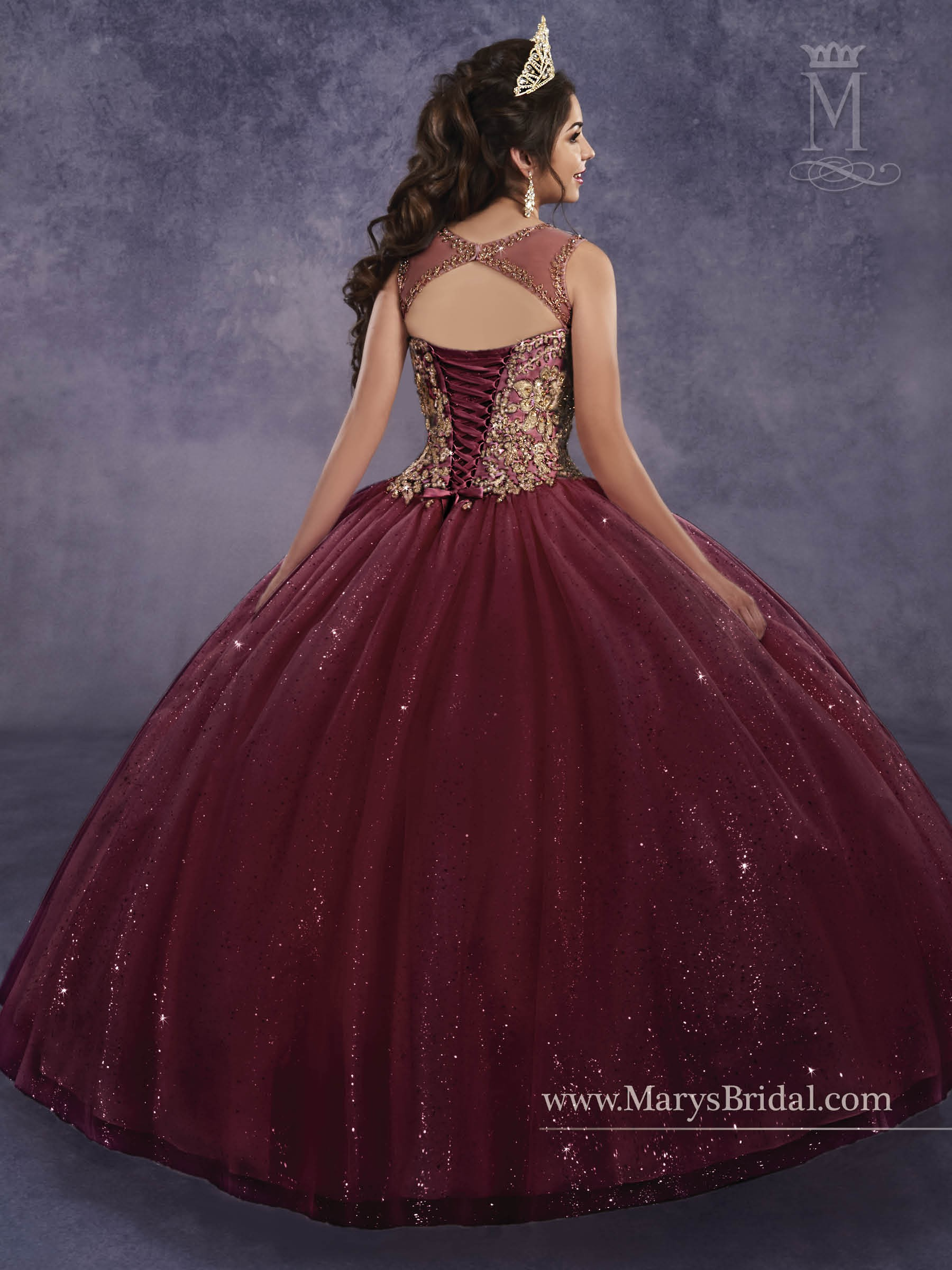 b1321afb8f1 ... Marys Bridal 4Q496 Quinceanera Dress