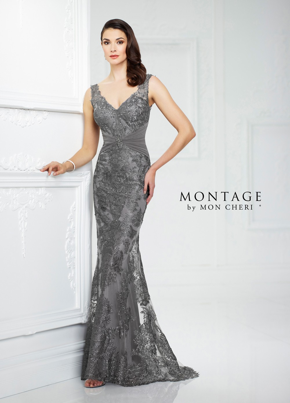 d1258442ac Montage by Mon Cheri 217942 in Stock Dress - MadameBridal.com