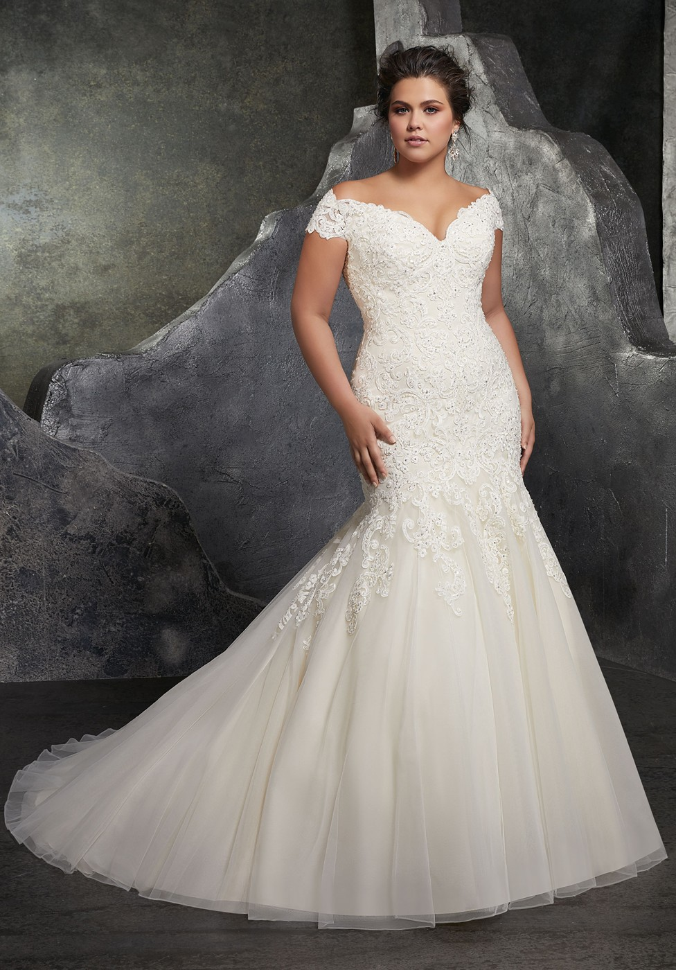 b8246d371dd1 Plus Size Wedding Gowns