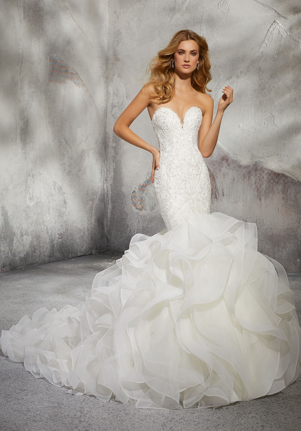 153683ccbd Mori Lee 8282 Leona Dress - MadameBridal.com