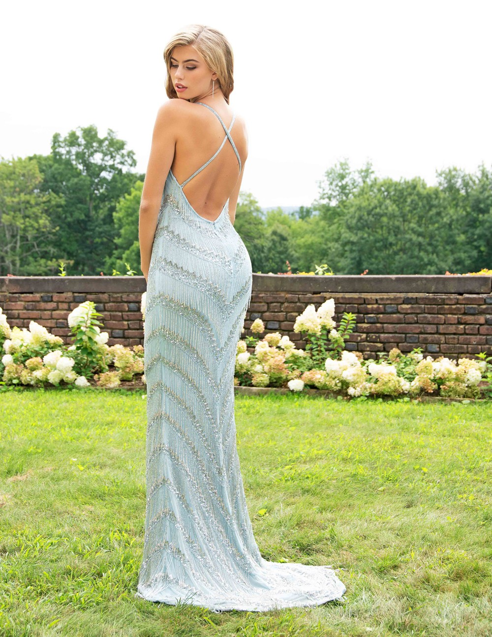 988b789b379 Primavera Couture 3213 Dress - MadameBridal.com