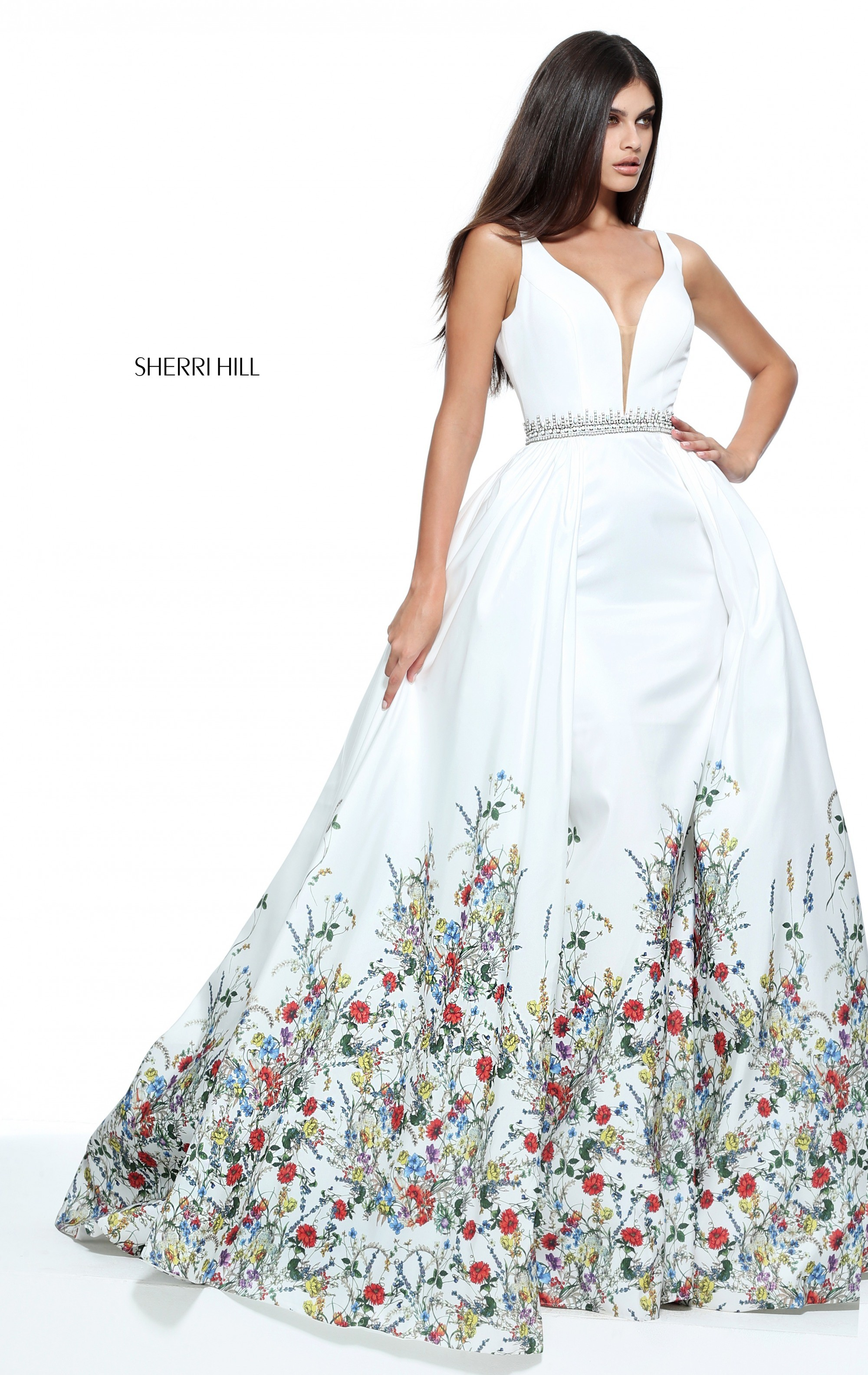 191cc1a1fd26 Sherri Hill Prom Dress Floral – Fashion dresses