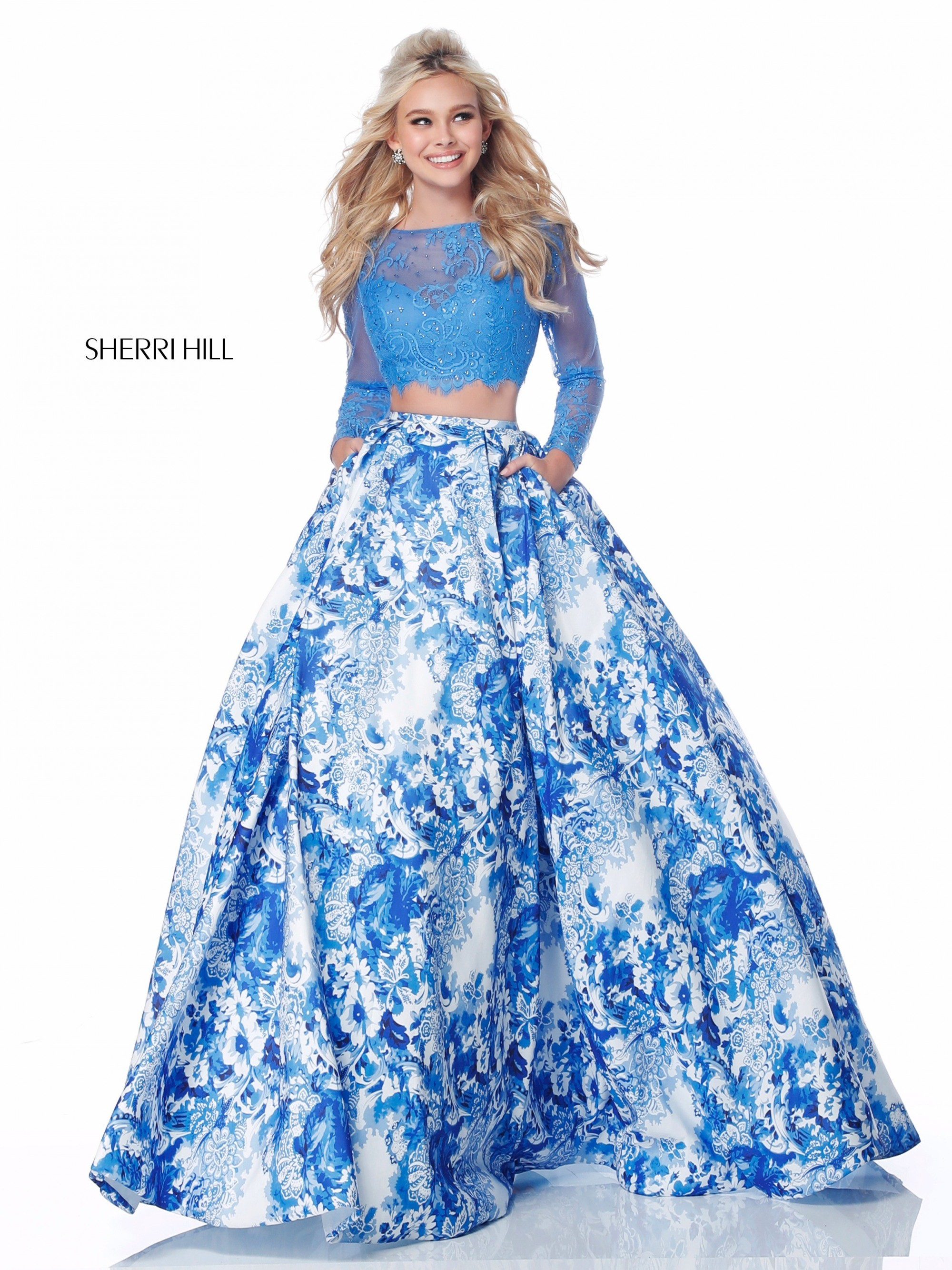 aefe79576c05 Homecoming Dresses Long Sleeve Two Piece