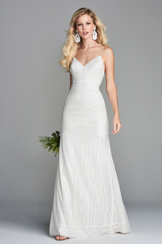 Wtoo Dress Style 10102 Vayentha: Simple Strap Wedding Dresses At Reisefeber.org