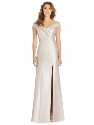 5d2c2422fb Alfred Sung D760 Off-The-Shoulder Bridesmaid Dress