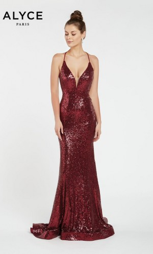 036bfee031a Alyce Paris 1387 Open Back Prom Dress