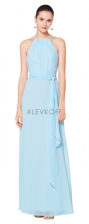 512a938f12d Bill Levkoff 7070 Tie Waist Bridesmaid Dress
