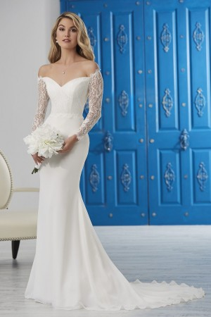 6ec684e19be Christina Wu 22863 Off the Shoulder Wedding Gown