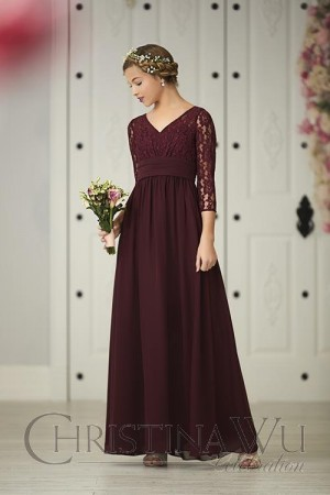 62e08a640dd Junior Bridesmaid Dresses in Youthful Styles and Charming Colors