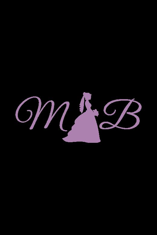 4465b3adb8 Enchanting by Mon Cheri 119121 Watteau Train Destination Bridal Dress
