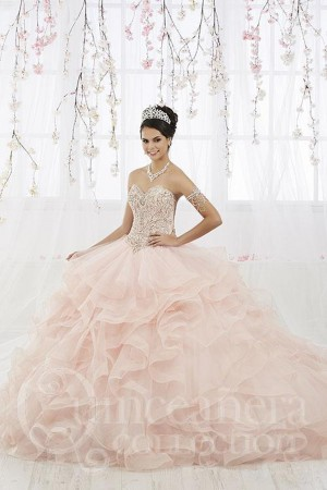 6a03be3481b House of Wu 26911 Ruffle Skirt Quinceanera Dress