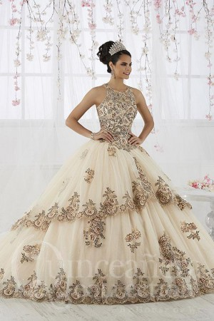 8bac4045e8d House of Wu 26912 Jewel Neck Quinceanera Dress