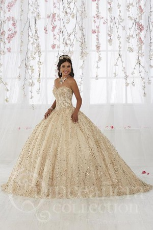 9d15ee9efa7 House of Wu 26913 Strapless Sweetheart Neck Quinceanera Dress