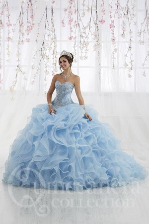 2873f154ca1 House of Wu 26916 Corset Top Quinceanera Gown