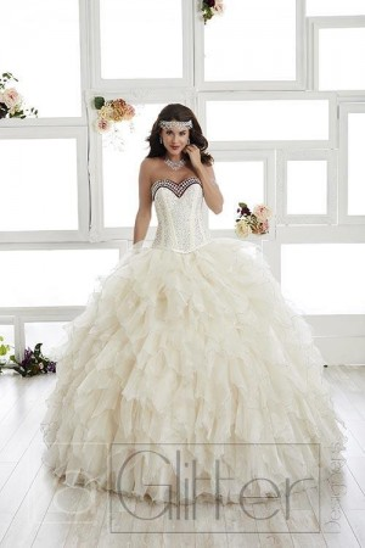 House of Wu La Glitter 24010 Quince Dress