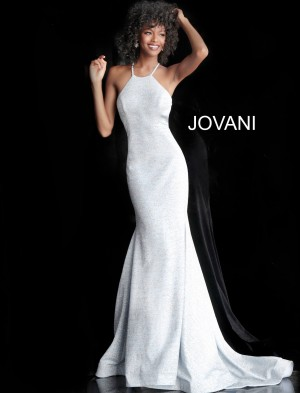 d648ebbd8bb Jovani 65416 Criss Cross Back Prom Gown
