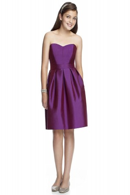Dessy JR522 Junior Bridesmaid Dress