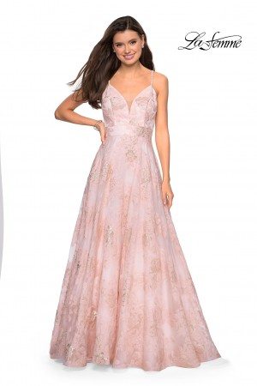 7e39bf9e473 La Femme - Dress Style 27549
