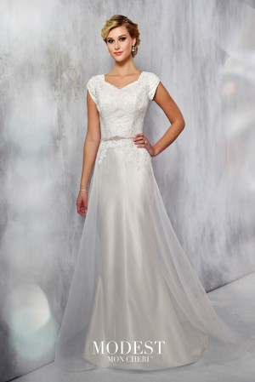 Modest Bridal by Mon Cheri TR21713