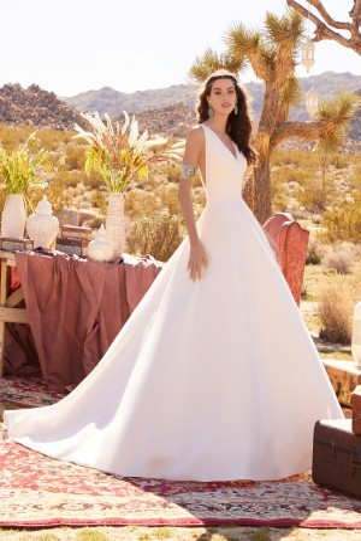 53f776b918 Mori Lee Blu Wedding Dresses by Madeline Gardner