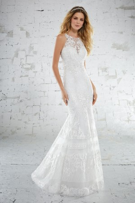 Mori Lee 6884 Beach Wedding Dress