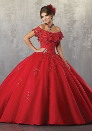 Sweet 16 Dresses with Rhinestones Silk