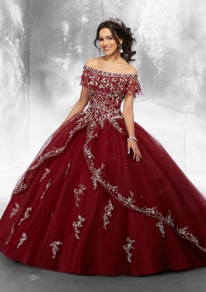 6d70886c04b Mori Lee 89181 Off-The-Shoulder Quinceanera Dress
