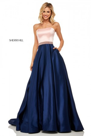 ae5f13a053c Sherri Hill 52776 Strapless Prom Dress