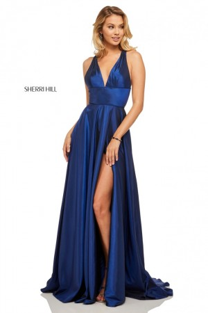1a70ea0ca48 Sherri Hill 52923 Open Back Prom Gown