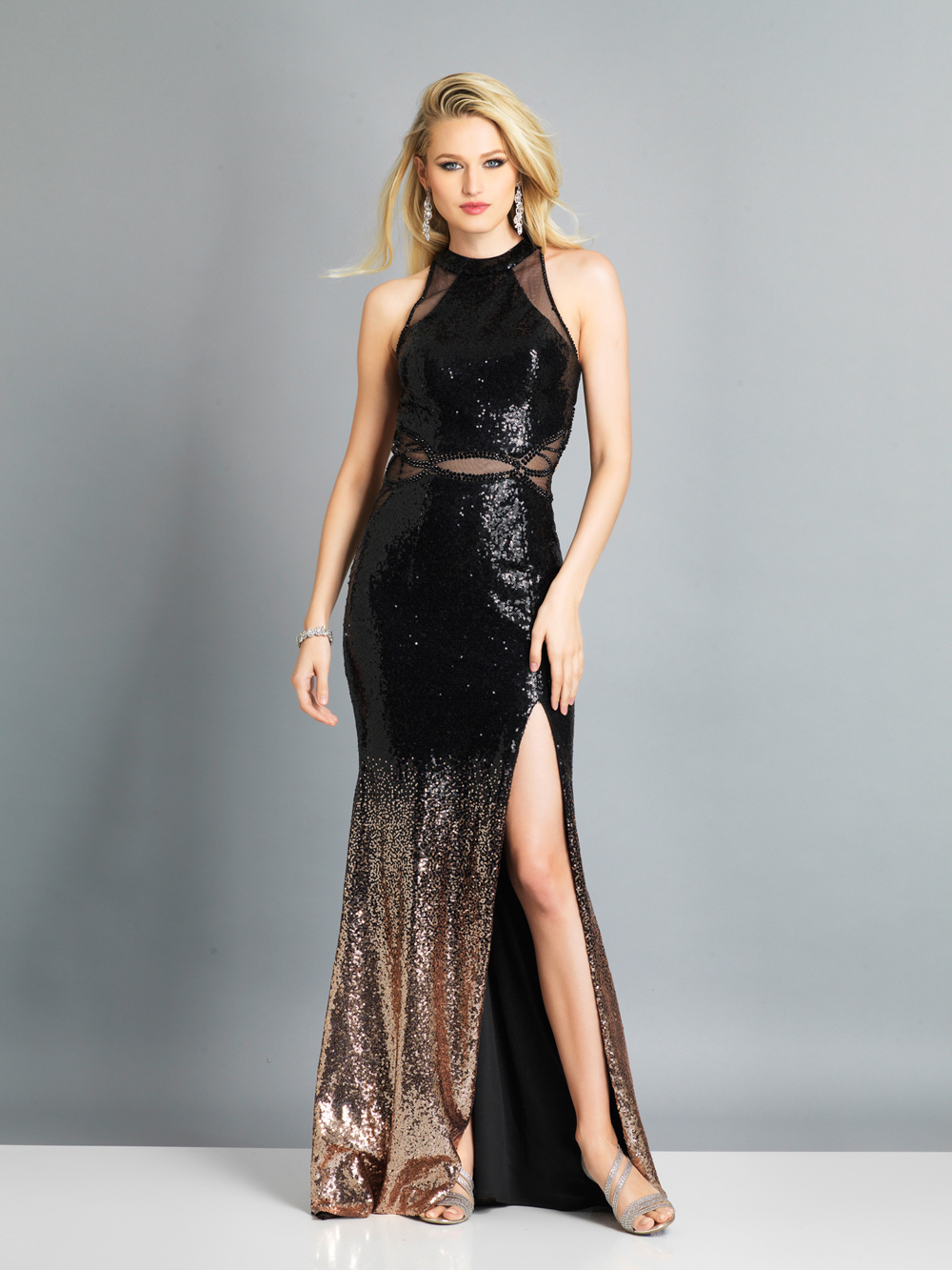 046233f457b Black And Sequin Prom Dress - Gomes Weine AG